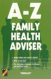 Cover of: A-Z Family Health Adviser (Clarion)