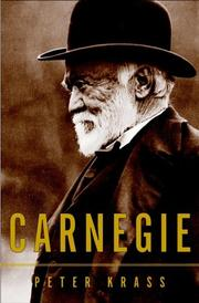 Cover of: Carnegie | Peter Krass