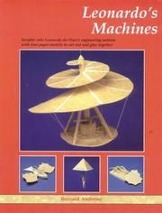 Cover of: Leonardo's Machines