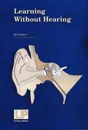 Cover of: Learning Without Hearing