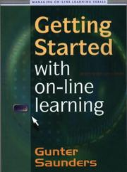 Cover of: Getting Started with On-line Learning (Managing On-line Learning Series)