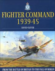 Cover of: Raf Fighter Command | David Oliver