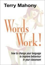 Cover of: Words Work | Terry Mahoney