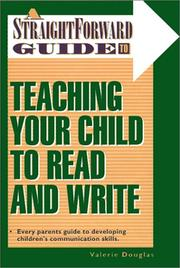 Cover of: Teaching Your Child To Read And Write