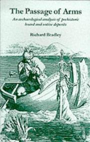 The Passage of Arms by Richard Bradley