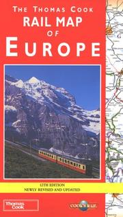 Cover of: Rail Map of Europe (Cooks Rail)