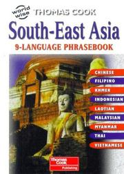 Cover of: South-East Asian 9-Language Phrasebook (World Wise) |