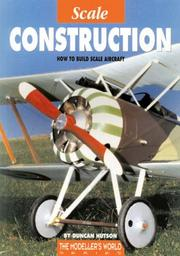 Cover of: SCALE CONSTRUCTION