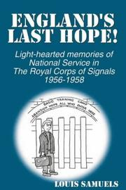 Cover of: England's Last Hope!