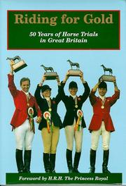 Cover of: Riding for Gold