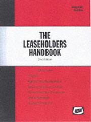 Cover of: The Leaseholders Handbook (Key Advice Guides)
