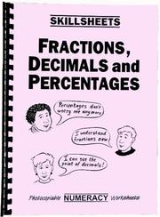 Cover of: Fractions, Decimals and Percentages (Skillsheets)