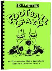 Cover of: Football Crazy (Skillsheets)