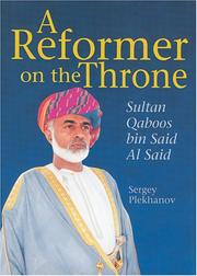 Cover of: A Reformer on the Throne