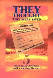 Cover of: They Thought They Were Saved