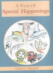 Cover of: A Week of Special Happenings