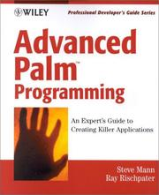 Cover of: Advanced Palm programming