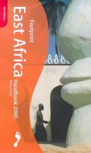 Cover of: East Africa Handbook 2000