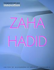 Cover of: Zaha Hadid