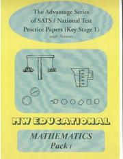 Cover of: Mathematics Key Stage One National Tests