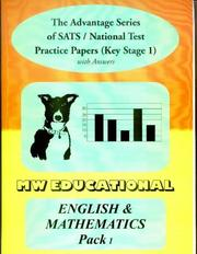 Cover of: English and Mathematics Key Stage One National Tests