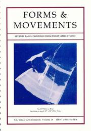 Cover of: Forms and Movements (CV Visual Arts Research S.)