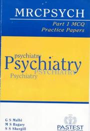 Cover of: MRCPsych Part 1