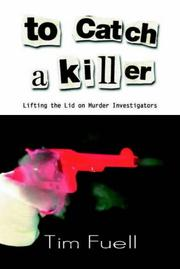 Cover of: To Catch a Killer