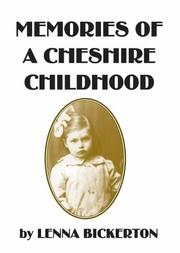 Cover of: Memories of a Cheshire Childhood