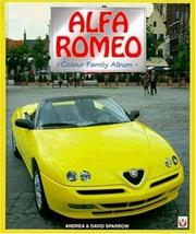 Cover of: Alfa Romeo Sportscars - The Colour Family Album