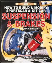 Cover of: How to Build & Modify Sportscar & Kit Car Suspension & Brakes for Road & Track (Speedpro)
