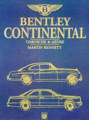 Cover of: Bentley Continental, Corniche & Azure- 1951-1998 (Car & Motorcycle Marque/Model)