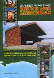 Cover of: Sussex Wartime Relics and Memorials