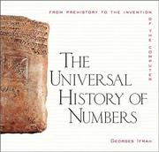 Cover of: The Universal History of Numbers | Georges Ifrah