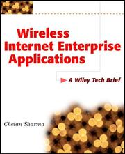 Cover of: Wireless Internet Enterprise Applications