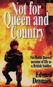 Cover of: Not for Queen and Country | Edwards Denmark