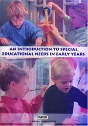 Cover of: An Introduction to Special Educational Needs in the Early Years (Nasen Publication)