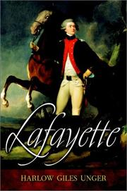 Cover of: Lafayette | Unger, Harlow G.