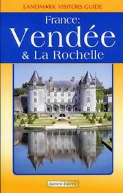 Cover of: Vendee and La Rochelle (Landmark Visitors Guide)
