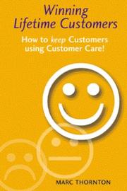 Cover of: Winning Lifetime Customers