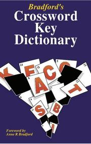 Cover of: Bradford's Crossword Key Dictionary