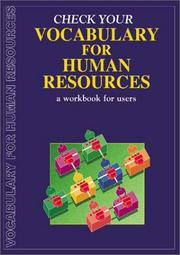 Cover of: Check Your Vocabulary for Human Resources