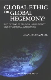 Cover of: Global Ethic or Global Hegemony?