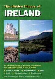 Cover of: Hidden Places of Ireland