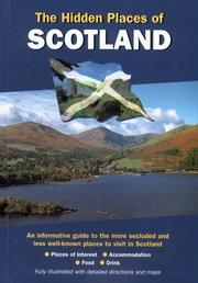 Cover of: Hidden Places of Scotland