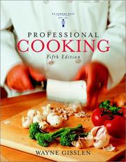 Cover of: Professional Cooking, College | Wayne Gisslen