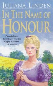 Cover of: In the Name of Honour (The Historical Club)