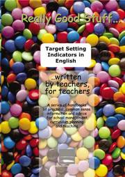 Cover of: Target Setting Indicators in English - Reception to Year 6 (Really Good Stuff)