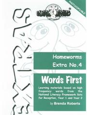 Cover of: Words First (Homeworms Extras)