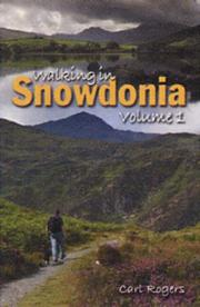 Cover of: Walking in Snowdonia